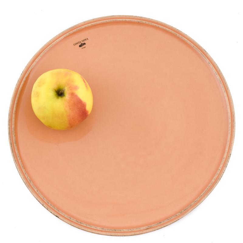 Тарелка обеденная терракотовая Friso  - фото