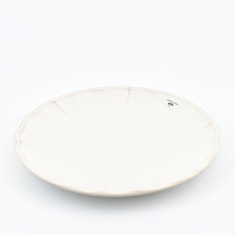 Тарелки обеденные белые, набор 6 шт. Alentejo  - фото