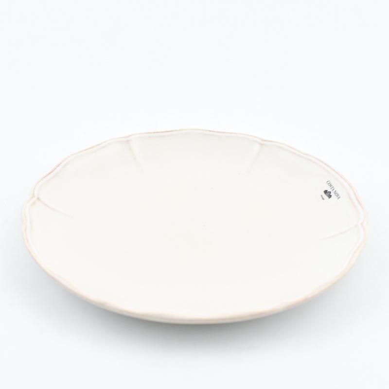 Тарелка для салата белая Alentejo  - фото
