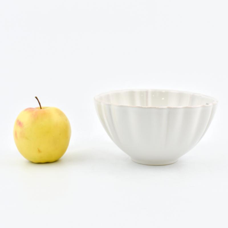 Изящная керамическая пиала белого цвета из коллекции Alentejo  - фото