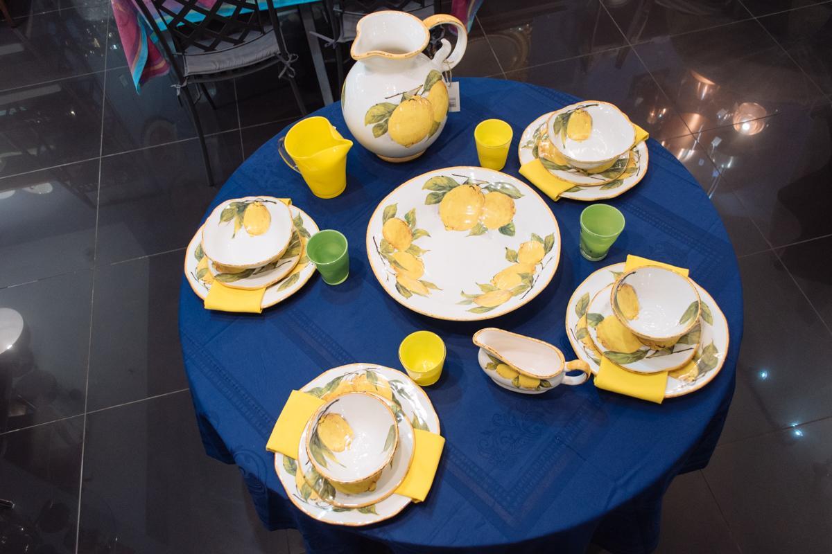 """Чашка чайная """"Лимоны""""  - фото"""