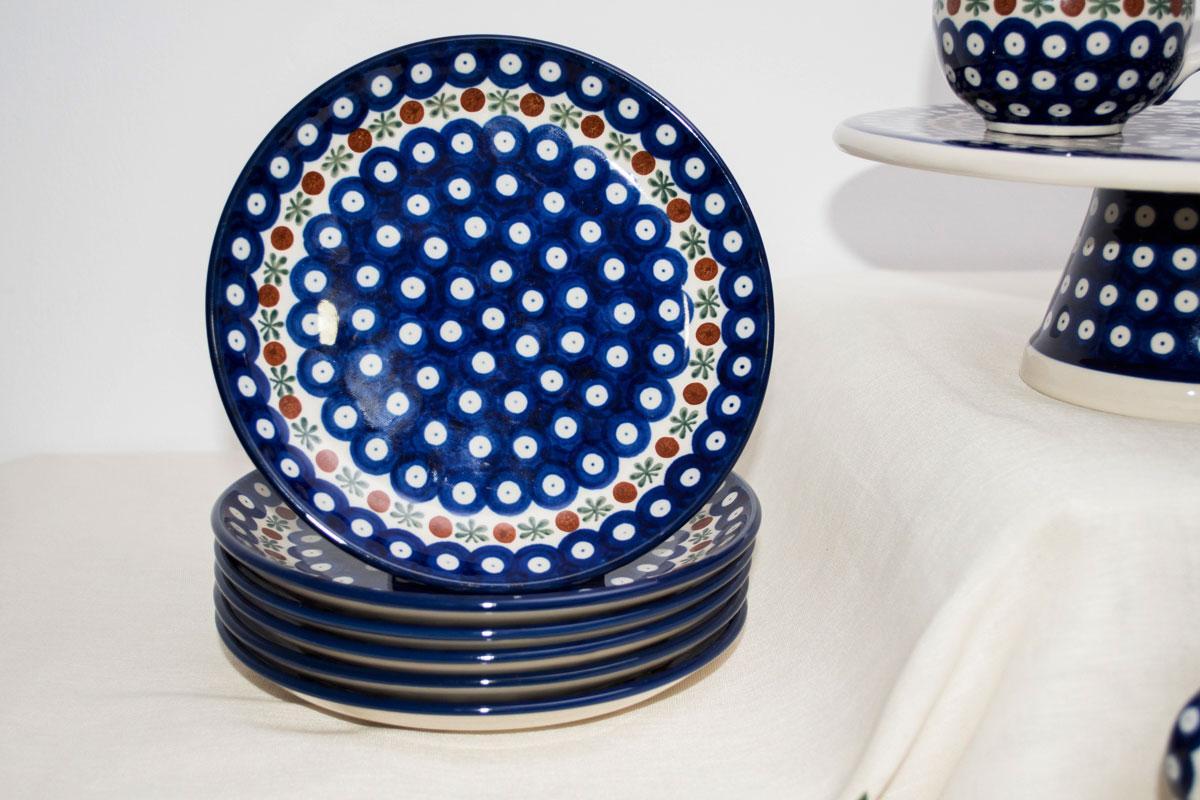 """Набор десертных тарелок """"Волшебная синева"""", 6 шт  - фото"""