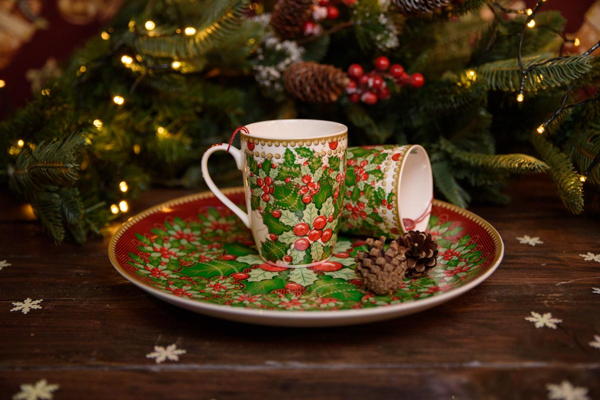 Подставная тарелка из праздничной коллекции «Исполнение желаний»  - фото