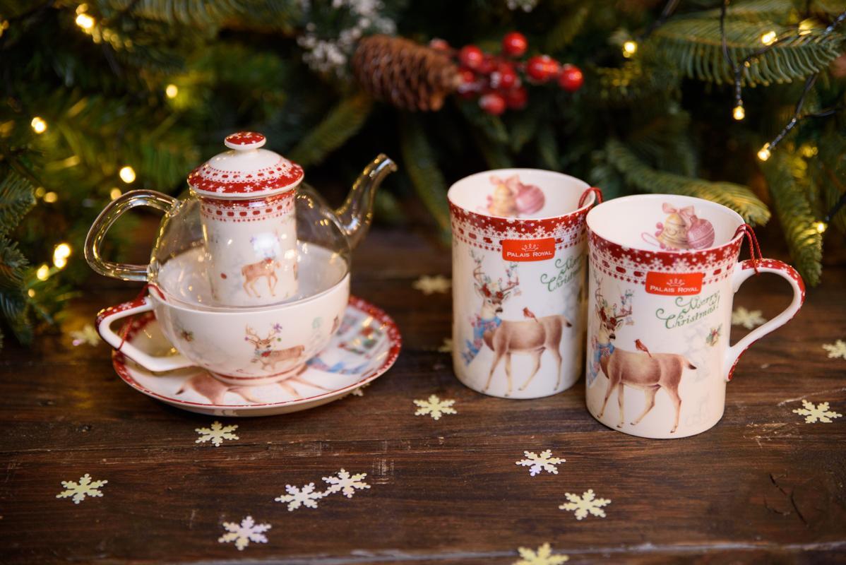 """Подарочная чайная кружка из фарфора """"Теплые поздравления""""  - фото"""