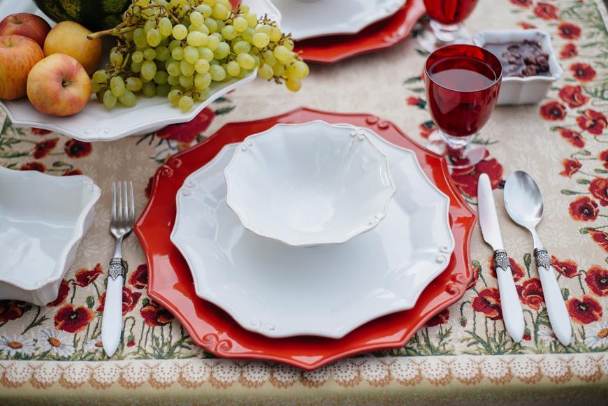 Белая посуда Barroco  - фото
