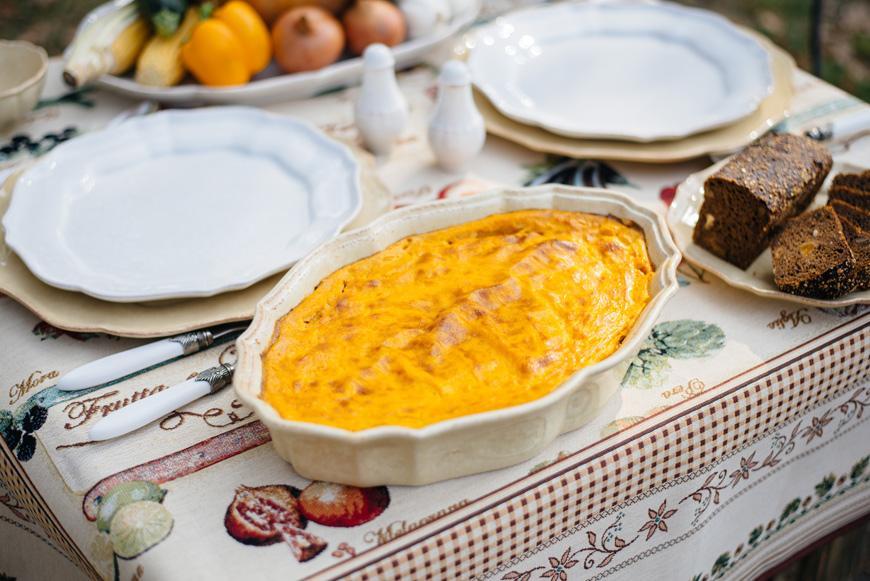 Тыквенно-картофельная запеканка в блюде Impressions   - фото