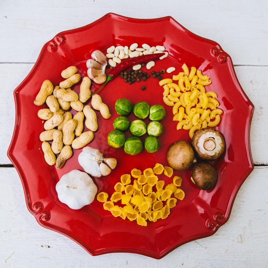 Блюдо красное Barroco  - фото