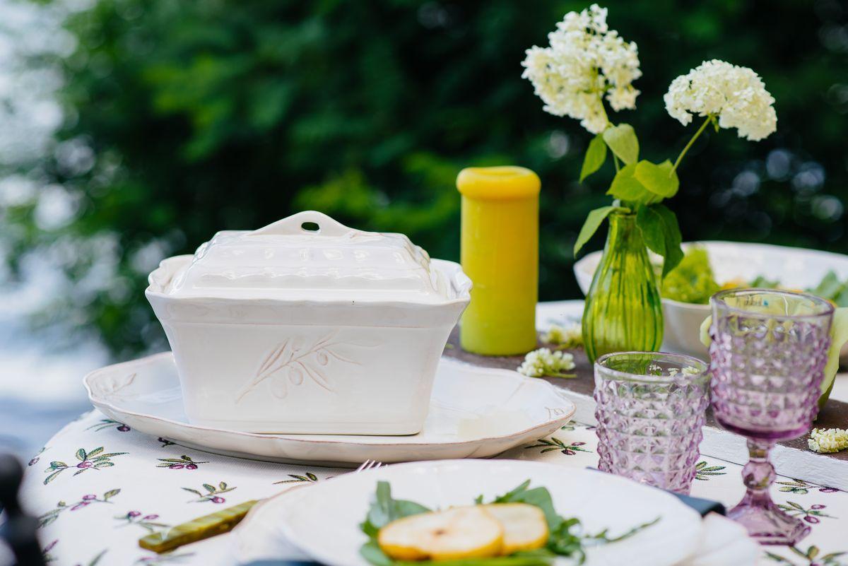 Блюдо для второго овальное Alentejo  - фото