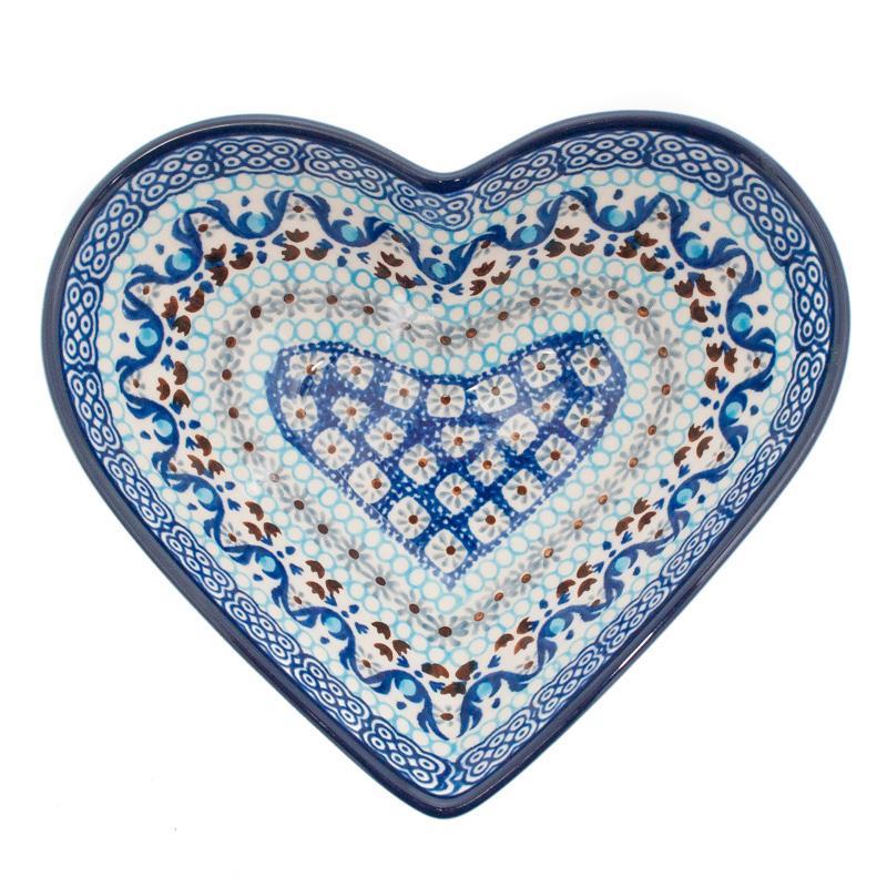Пиала в форме сердца  - фото