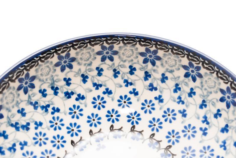 Пиала для супа Ceramika Artystyczna Полевые цветы 17 см  - фото