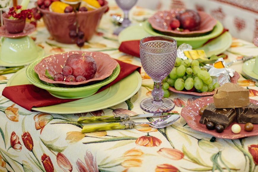 Тарелки для супа Bizzirri Venezia Verde 24 см 6 шт.  - фото