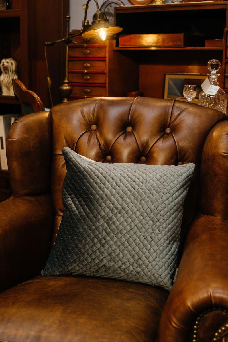 Подушка стёганая Anthracite  - фото
