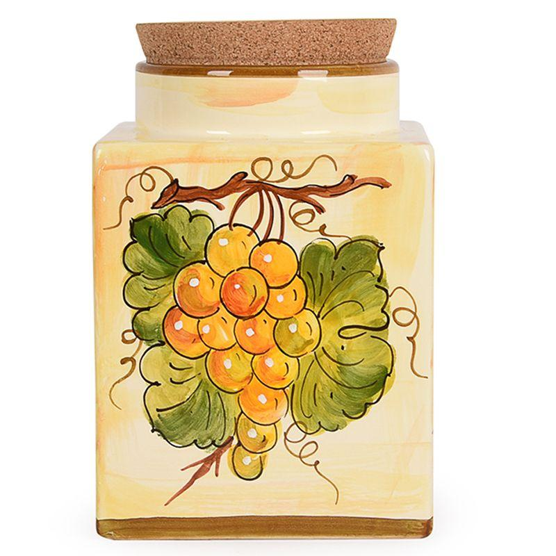 Большая емкость для хранения с пробкой Frutta di Campo  - фото