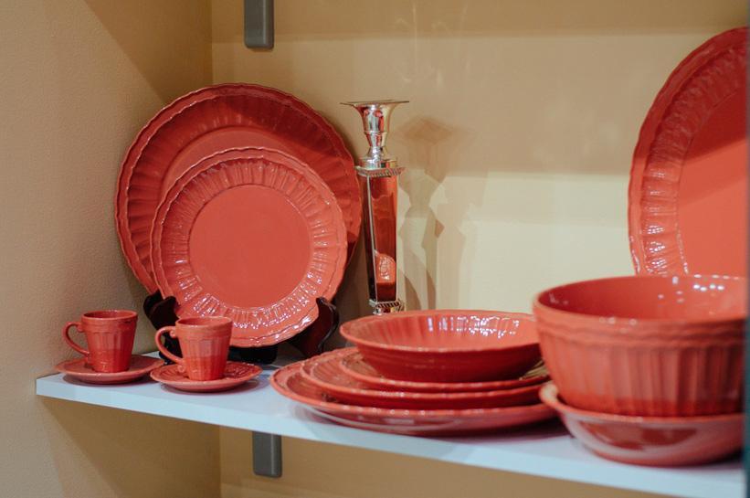 Набор тарелок Comtesse Milano Dalia 21 см 6 шт.  - фото
