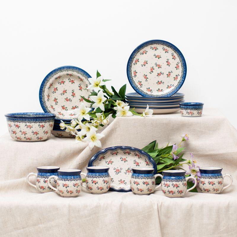 Набор тарелок для супа Ceramika Artystyczna 23 см 6 шт.  - фото