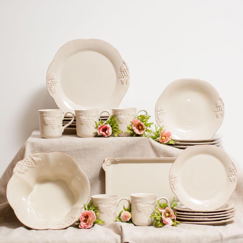 Набор тарелок обеденных 6 шт Mediterranea  - фото