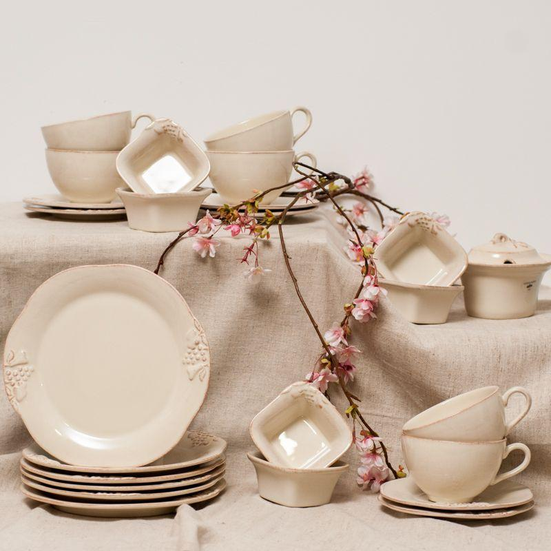Блюдо для жульена с односторонним декором Mediterranea  - фото