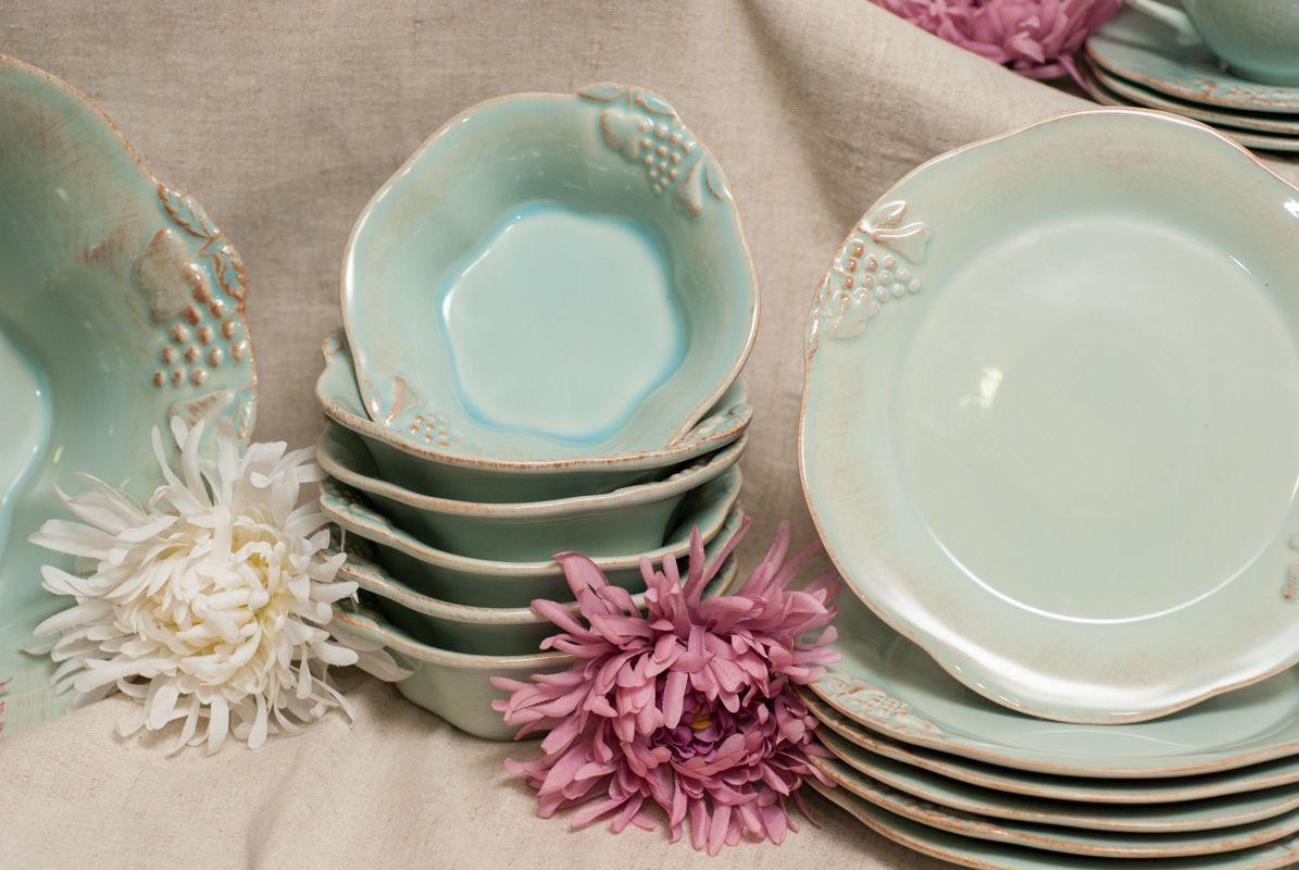Тарелки для салата, набор 6 шт Mediterranea  - фото