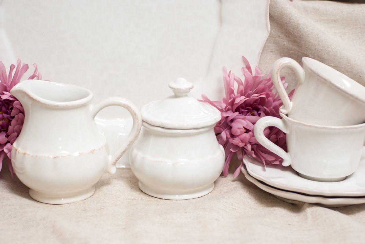Сахарница белая Impressions  - фото
