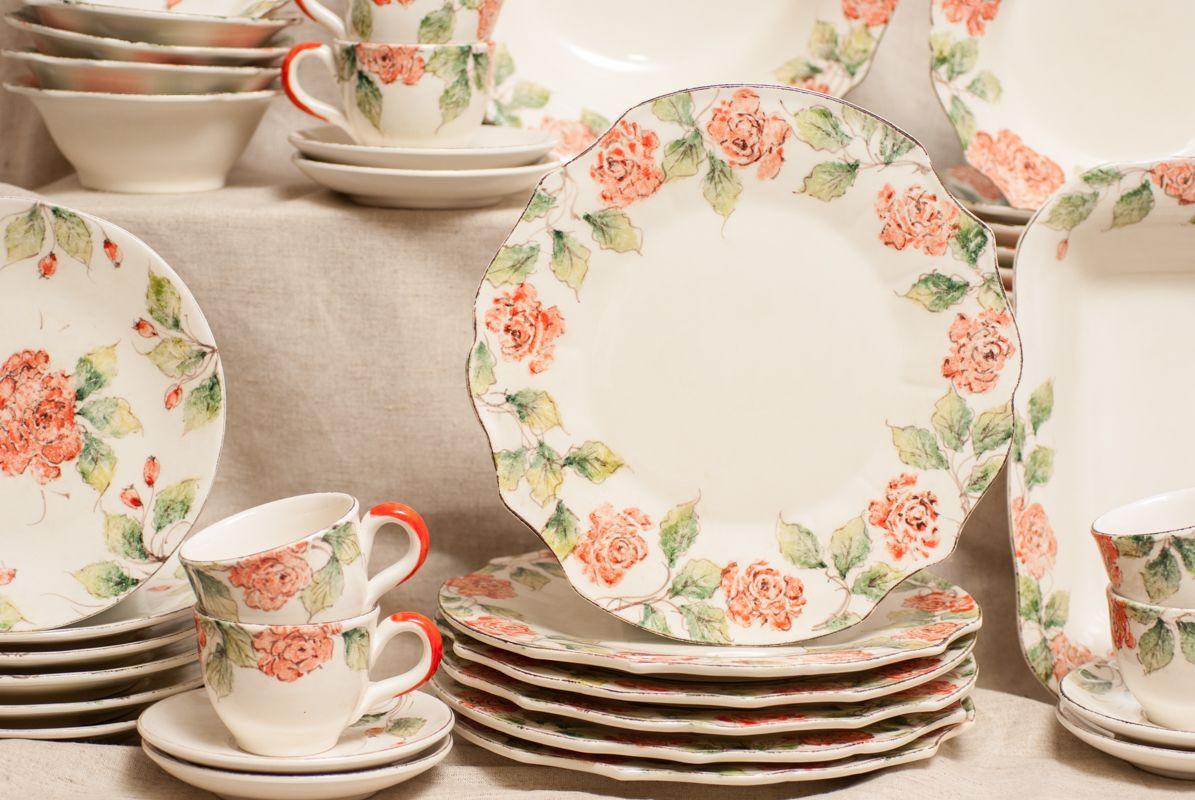 Сервиз столовый Розы  - фото