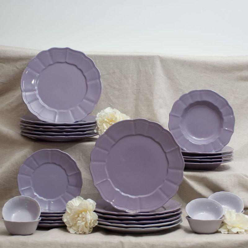 Набор тарелок Comtesse Milano  Loto 21 см 6 шт.  - фото