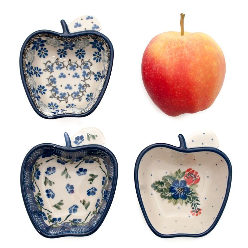 Пиала для варенья в форме яблока  - фото