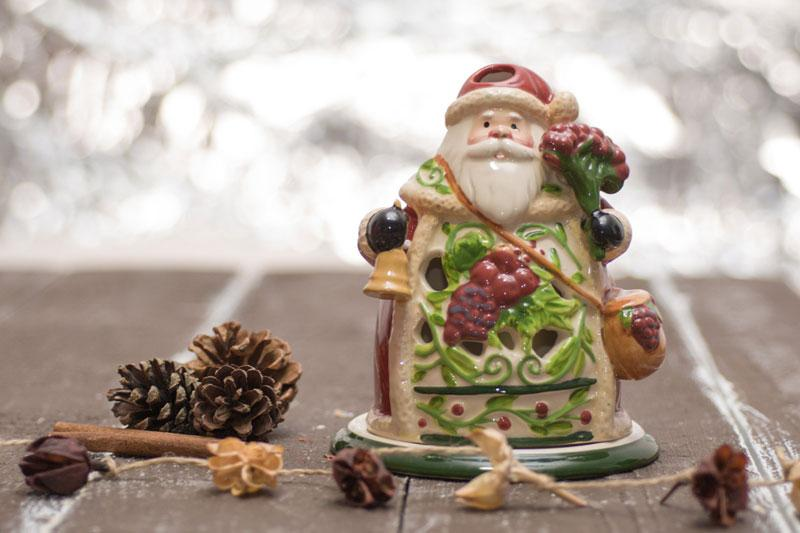 Подсвечник Дед Мороз  - фото