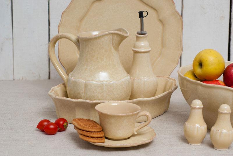 Олейник из желтой керамики с потертостями Impressions  - фото