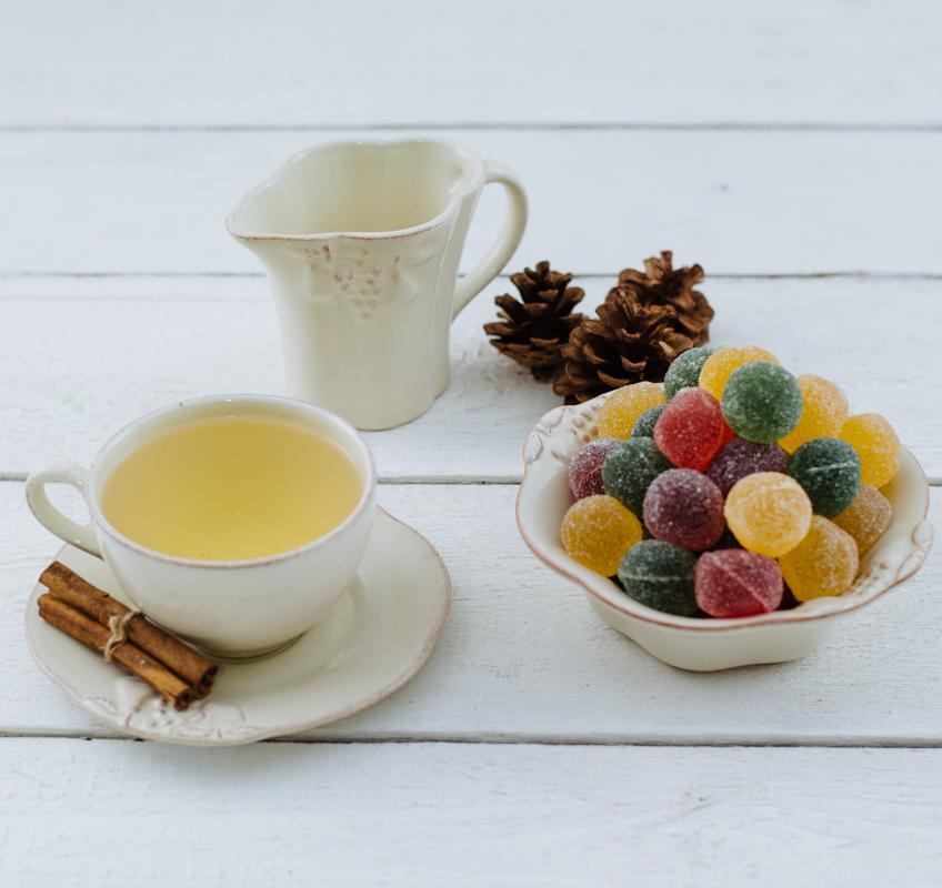 Чайная чашка с блюдцем из прочной керамики нежного кремового оттенка Mediterranea  - фото