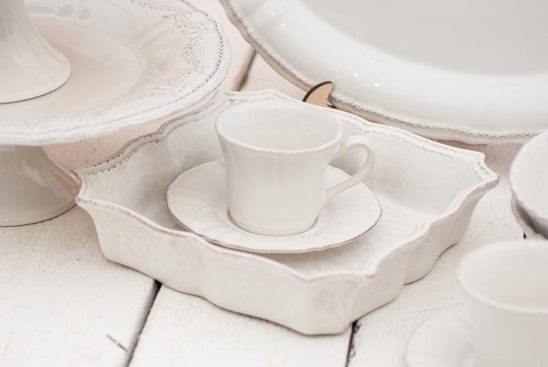 Набор чайных чашек с блюдцем 6 шт Village  - фото