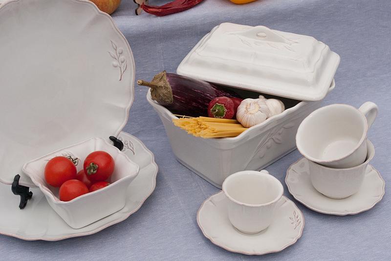 Чашки с блюдцами для чая, набор 6 шт. Alentejo  - фото