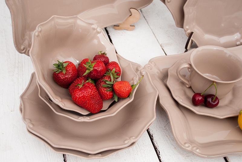 Barroco – посуда цвета какао  - фото