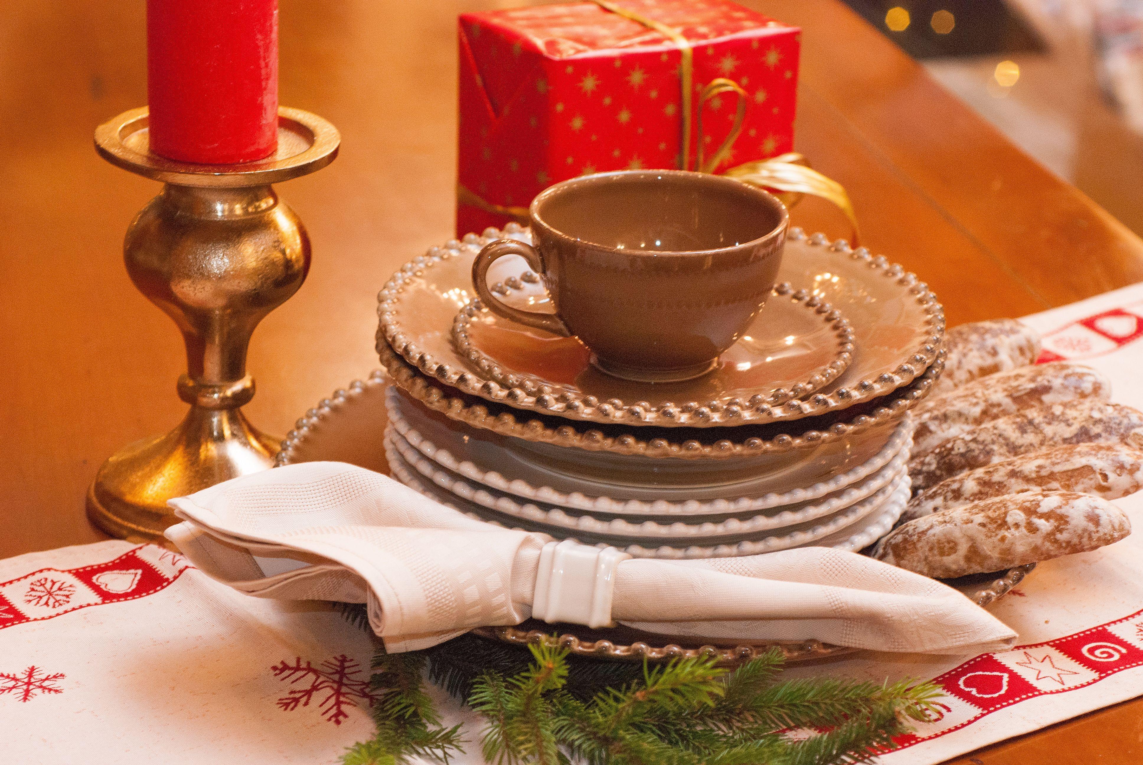 Чашки чайные с блюдцем, набор 6 шт. Pearl  - фото
