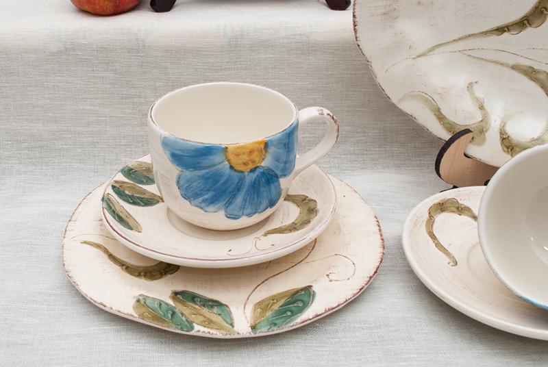 Коллекция посуды с цветами Portofino  - фото
