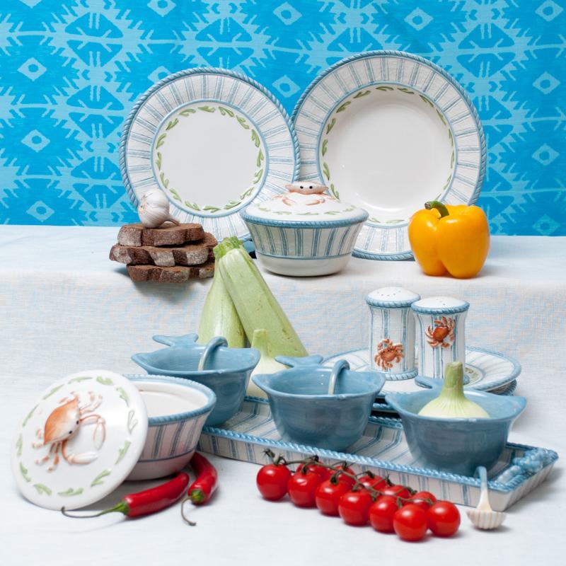"""Тарелка сервировочная """"Морская""""  - фото"""