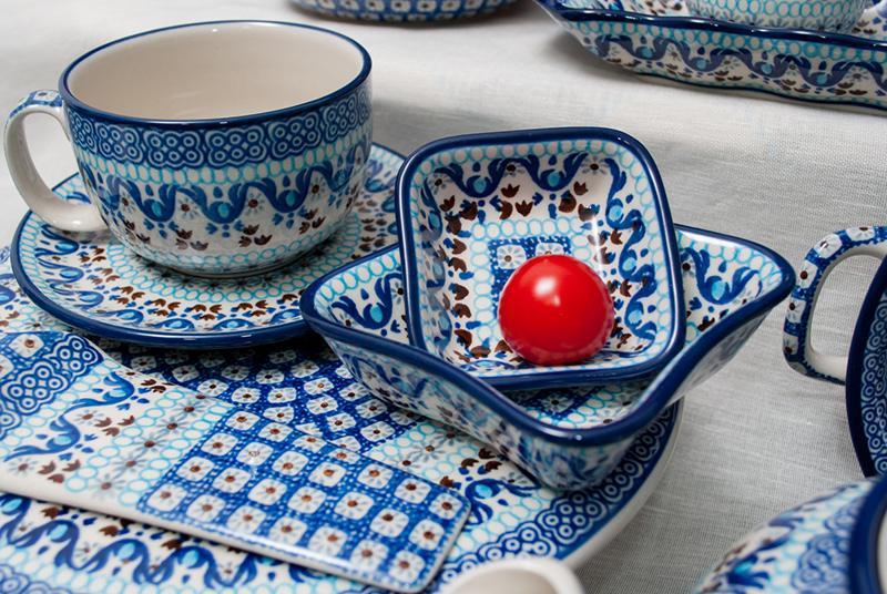 """Узорные чайные чашки с блюдцами, набор 6 шт. """"Марракеш""""  - фото"""