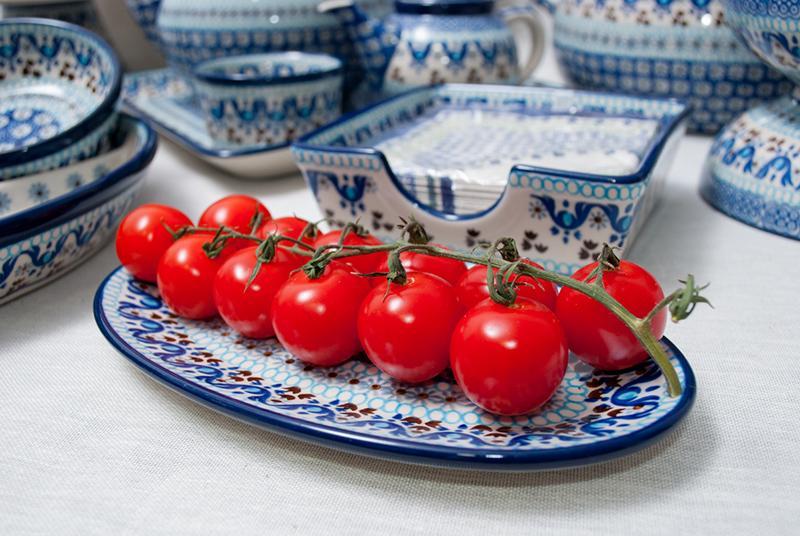 Блюдо для закусок овальное  - фото
