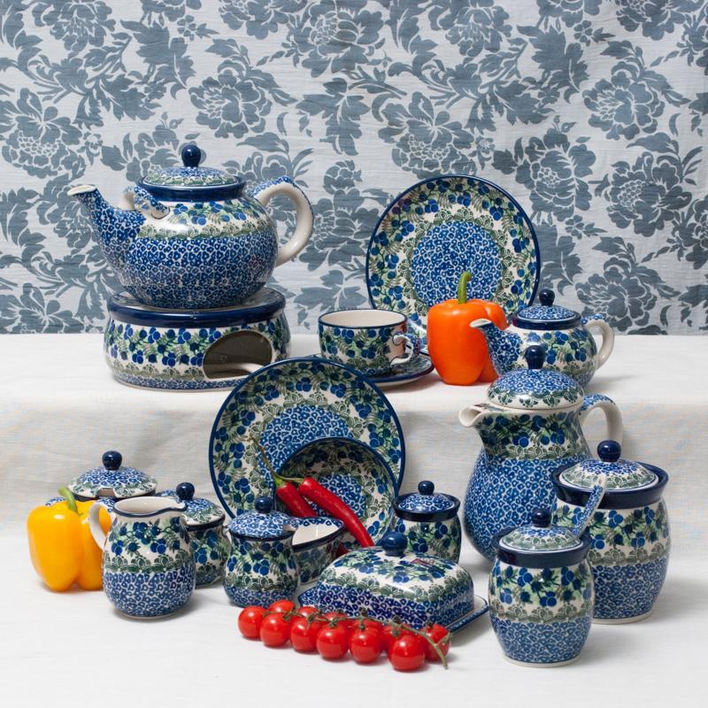 """Горелка для чайника с орнаментом """"Ягодная поляна""""  - фото"""