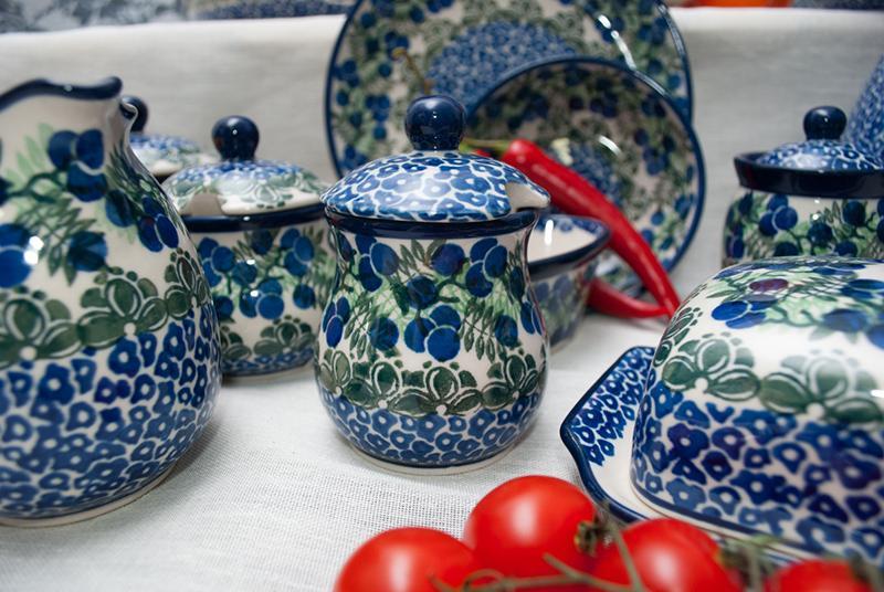"""Посуда, украшенная ягодами - коллекция """"Ягодная поляна""""   - фото"""