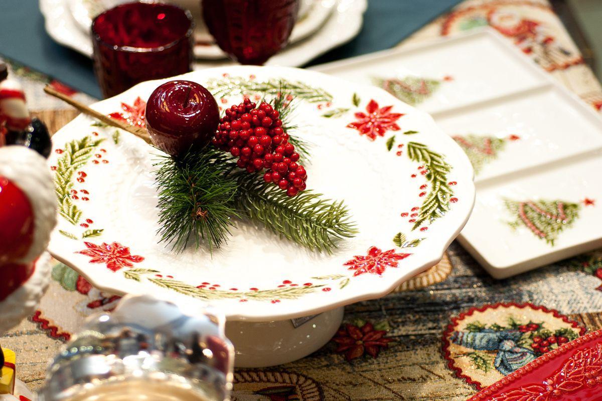 "Тортовница ""Рождество""  - фото"