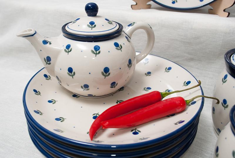 """Набор 6 шт. тарелок """"Голубика""""  - фото"""