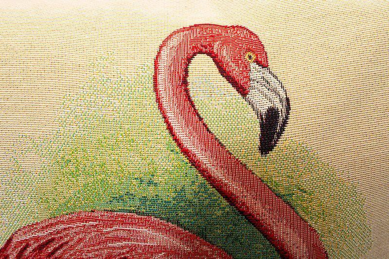 Наволочка Villa Grazia Premium Розовый фламинго  - фото