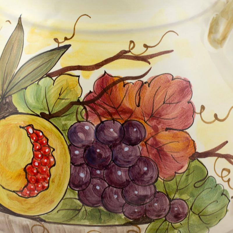Горшок с ручками Frutta di Campo  - фото