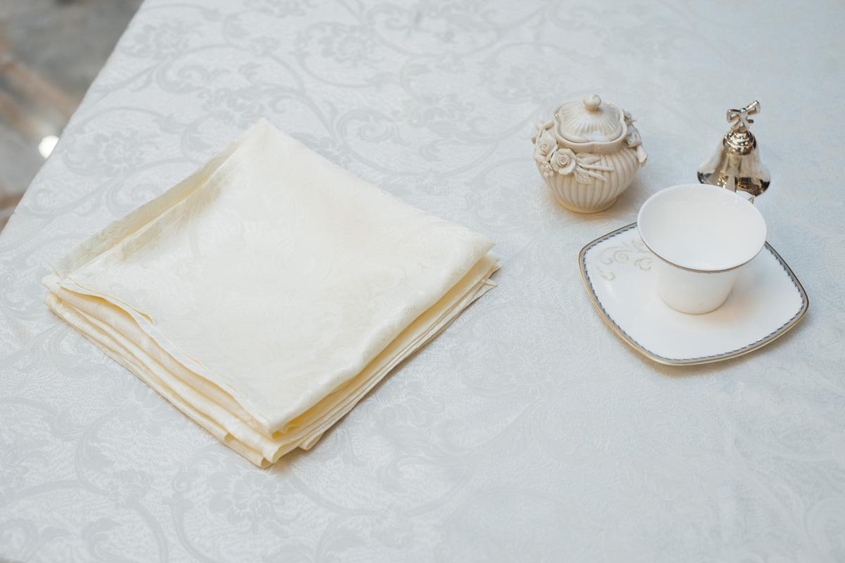 Комплект подарочного текстиля: скатерть и 6 салфеток Felisa  - фото