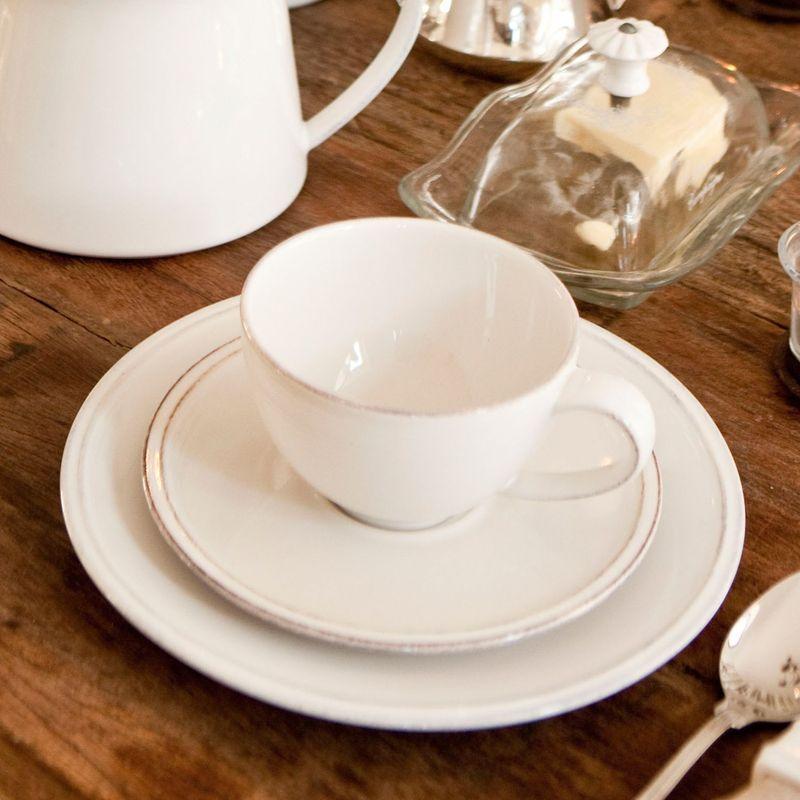 """Коллекция """"каменной"""" посуды Friso белая  - фото"""