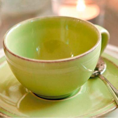 """Коллекция """"каменной"""" посуды Friso зелёная  - фото"""