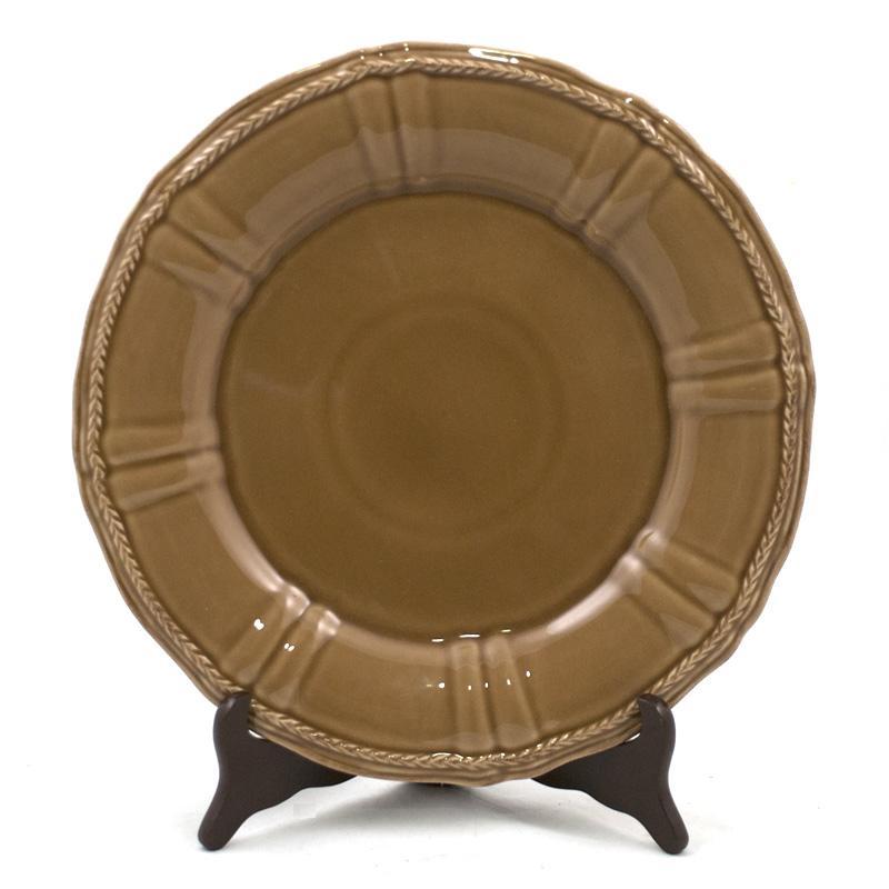 Блюдо коричневое Village  - фото