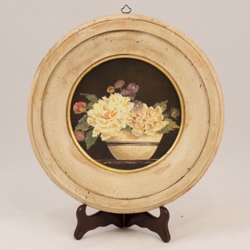 "Набор из 4-х репродукций картин ""Вазоны с цветами"" Кэтрин Уайт  - фото"