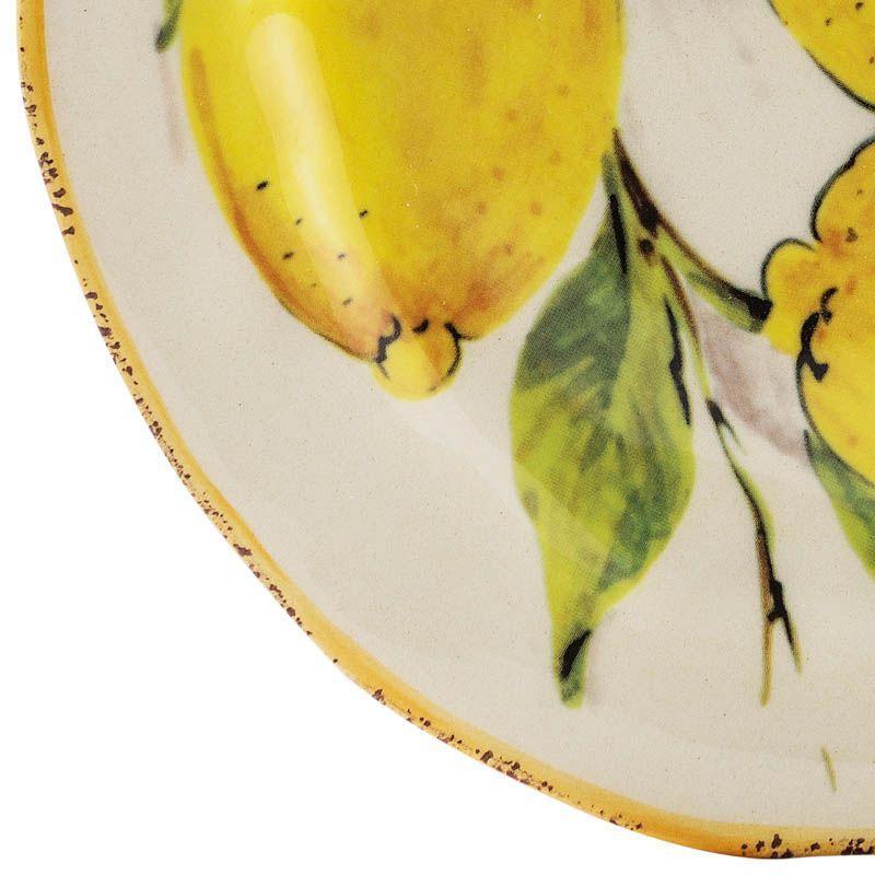 Тарелка для салата Лимоны  - фото