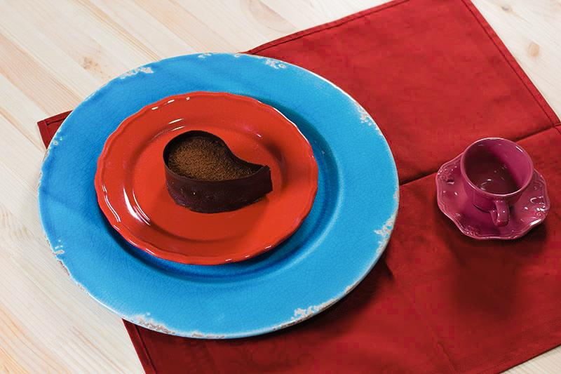 """Подставное керамическое блюдо """"Помпеи""""  - фото"""
